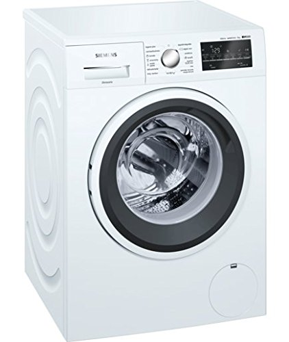 Siemens IQ500�wm12t469es Freestanding Top Load 8�kg 1200rpm A + + + White�-�Washing Machine (Freestanding, Front Loading, White, Left, LED, White)