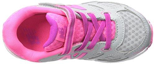 New Balance KA680 Infant Run Running Shoe (Infant/Toddler) Grey/Pink