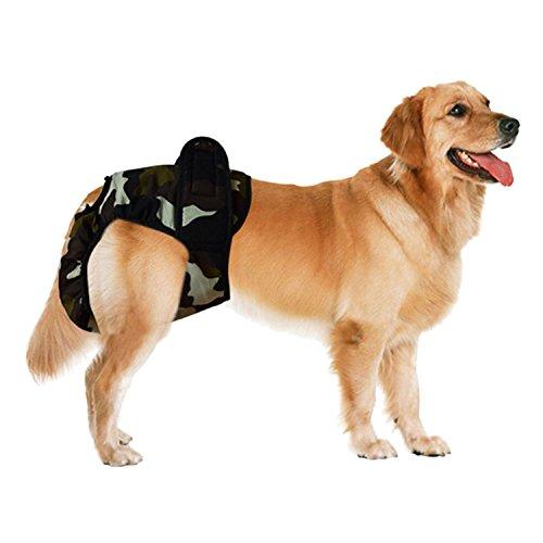 Weiblich Hunde Schutzhose Haustier Unterhose Unterwaesche Welpenhose Hose fuer Grosse/Kleine Hunde Laeufigkeit XL - 2