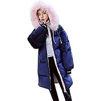 Hanomes Damen pullover, Damen Oberbekleidung Cord Lange Baumwolle gefütterte Jacken Pocket Fur Hooded Coats preisvergleich bei billige-tabletten.eu