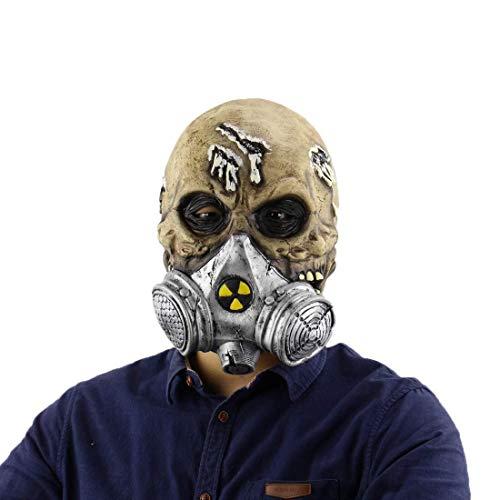 Individuelle Superhelden Kostüm - Maske Maskerade Prom Maske HLLPG Halloween Biochemische Schädel Maske Latex Party Horror Erwachsene Scary Phantasie Bar Cosplay Kostüm Zubehör Neuheit Masken Kopfmaske