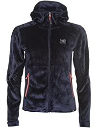Karrimor Womens Radiant Fleece Full Zip Top Sweatshirt Jumper High Neck Hooded