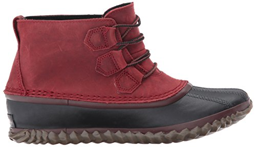Sorel Out N about Leather, Damen Chukka Boots Red Element