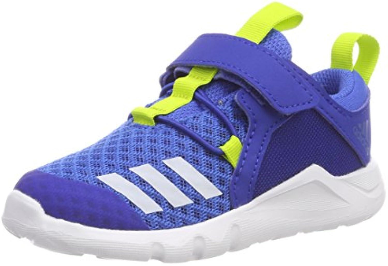Adidas Rapidaflex 2 El I, Zapatillas de Estar por Casa Bebé Unisex, Azul (Azul/Reauni / Seamso 000), 20 EU