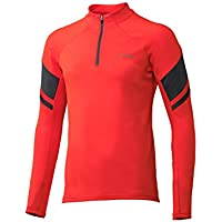 Phenix Snow Trail–Camiseta de Cuello de esquí para Joven, Red, M
