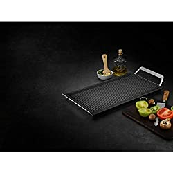 AEG A9HL33 Mastery Collection Plancha con Asas, Negro, Acero Inoxidable