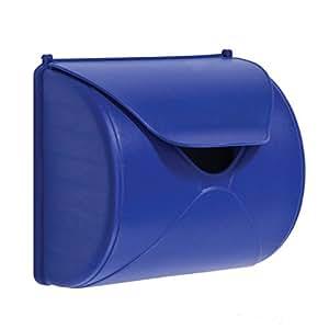 Gartenpirat Boîte aux lettres pour enfant Boîte aux lettres de jeu - Couleur : bleue