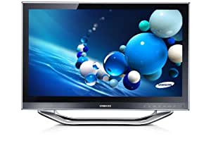Samsung All-in-One 700A3D-S01 59,94 cm (23,6 Zoll) Desktop-PC (Intel Core i3-3220T, 2,8 GHz, 4GB RAM, 750GB HDD, AMD HD 7690, DVD, Touchscreen, Win 8) schwarz