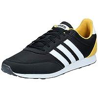 adidas V Racer 2.0, Men's Road Running Shoes, Black (Core Black/Ftwr White/Grey Five), 44 EU