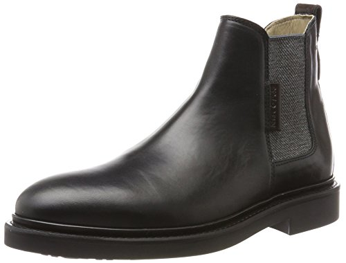 Marc O'Polo Herren Flat Heel Chelsea 70824105001108 Boots, Schwarz (Black), 42 EU (Black Boot Mops)
