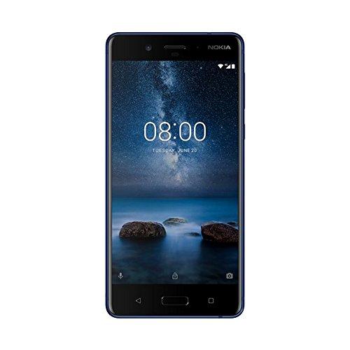 Foto Nokia 8 Smartphone, 64 GB, Temperato Blu [Italia]