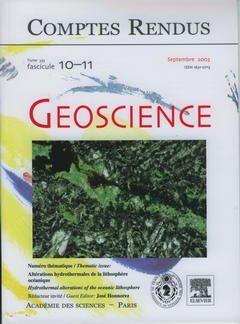 Comptes Rendus Académie des Sciences, Geoscience, Tome 335, Fasc 10-11, Sept 2003 : Alterations Hydr