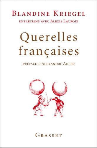 Querelles françaises (essai français)