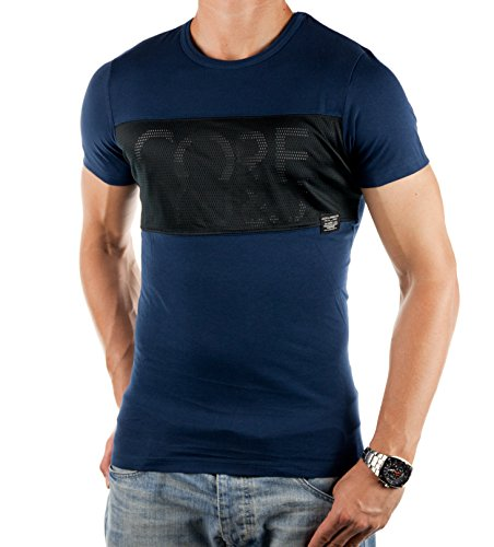 Jack and Jones Herren T-Shirt FRANCIS TEE Navyblau