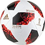 adidas W Cup KO tglid, Balón Unisex–Adulto, Blanco/Solred/Negro, 5