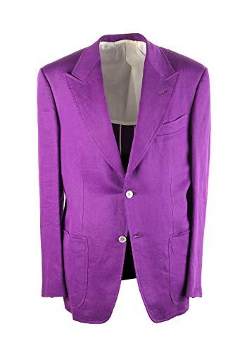 CL - Tom Ford Spencer Purple Sport Coat Size 50 / 40R U.S.