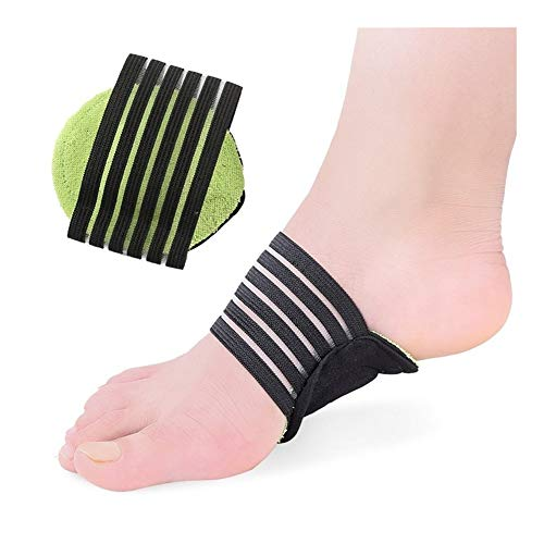 JJZXPJ Plantar Fasciitis,Bogen Plattfuß Orthotics Massage Breathable Flat Foot Orthopädische Schuheinlagen Halb Füße Pflege Schuhe Pad Fit Männer Und Frauen