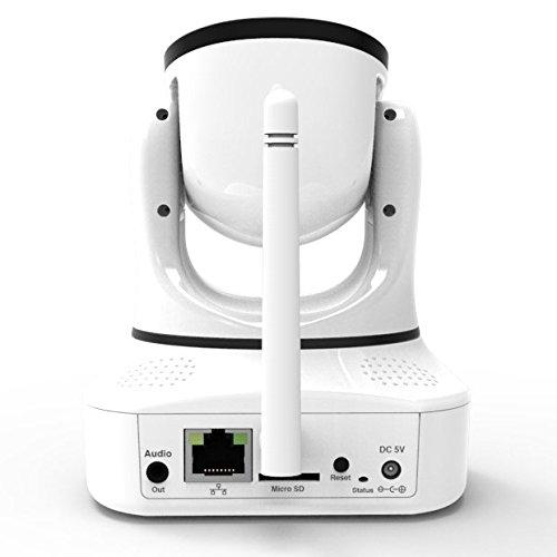 INSTAR IN-6014HD HD IP Kamera / Überwachungskamera / Sicherheitskamera / ip cam für den Innenbereich mit Lan und WLAN / Wifi (12 IR LED Infrarot Nachtsicht - 2