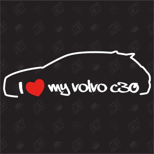i-love-my-volvo-c30-stickers-bj-0612