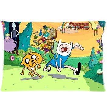 Trendsetter Adventure Time Happy personaggi custom federe cuscino decorativo federa standard size 20x 30(due (Adventure Time Cuscino)