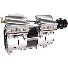 Compresor de Aire silencioso sin Aceite Motor de Cobre Lleno Bomba de Aire de pistón pequeño