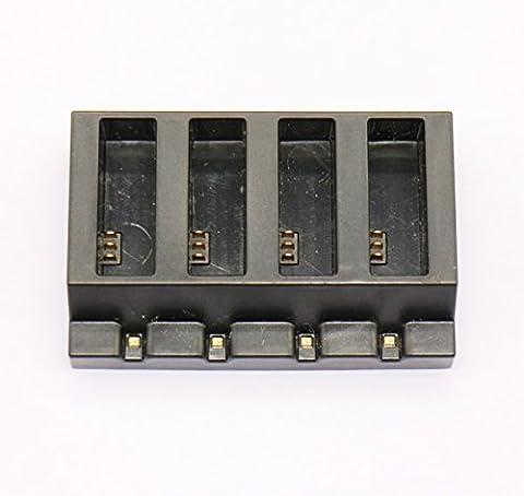 Anbee 4 ports Plaque de charge parallèle Chargeur multi batterie