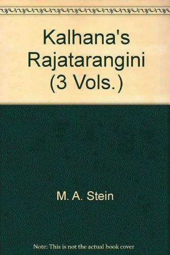 Kalhana's Rajatarangini (3 Vols.)