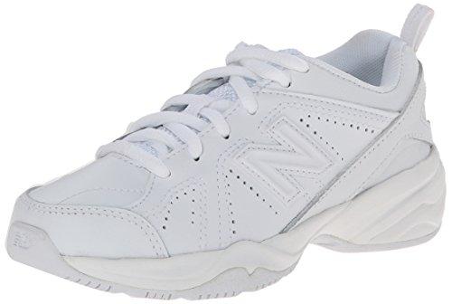New Balance KX624 Lace-Up Training Shoe (Little Kid/Big Kid),White,1 M US Little Kid White