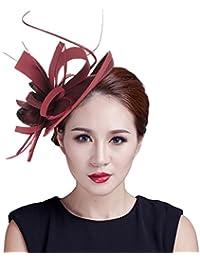 EOZY Mujer Tocado de Pelo Sombrero Vintage