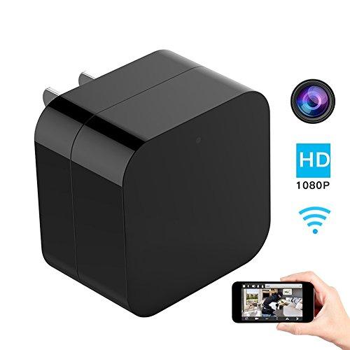Shootingstar Kamera-Adapter für Spy Kamera APP Remote View Kamera HD 1080P Wifi Wireless Kamera Kamera Kamera Überwachungskamera Mini Spy Camera USB Camera Nanny Camera Verbesserte Spy Kamera Ladegerät