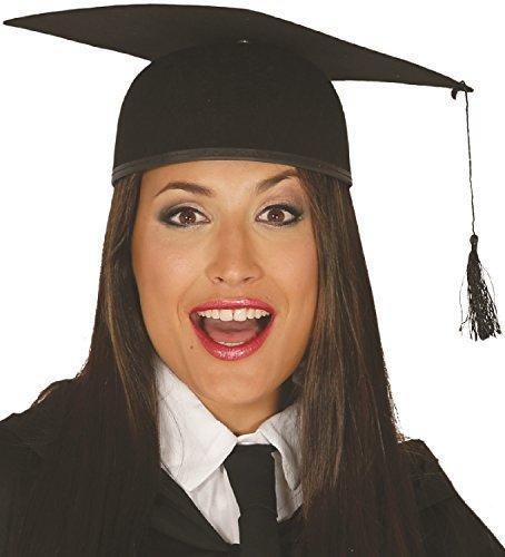 Fancy Me Damen Herren Student Abschlussball Doktorhut University Schultaschen Welttag des buches-tage-woche Kostüm Kleid Outfit Hut (Kostüm Buch Tag)