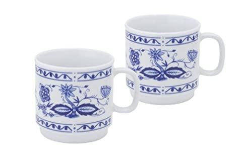 Kahla 48A180A72005A Coffee Cups with Onion Pattern Set of 2