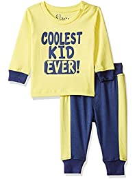 5003ecad1 GJ BABY Baby Girls' Regular Fit Bodysuit (151246518138  C313_LIMELIGHT(C313)_3-