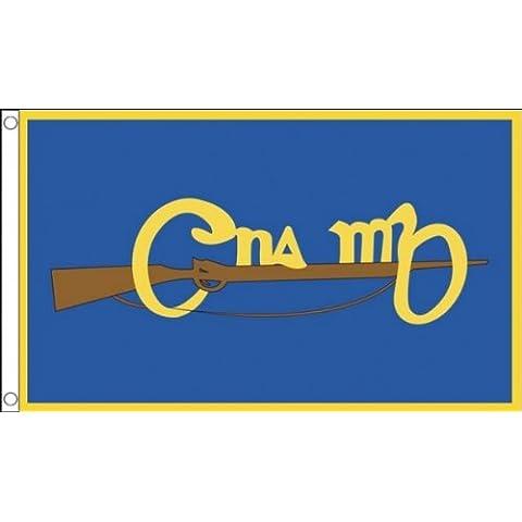 152,4 cm x 91,44 cm (150 x 90 cm) Cumann na mBan irlandés Irlanda Republicano organización paramilitar de las mujeres 100% Material del poliester bandera de la bandera Ideal para Pub Club escuela negocios