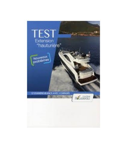 CODE ROUSSEAU TEST HAUTURIERE 2012 de Code Rousseau (7 mars 2012) Broché PDF Books