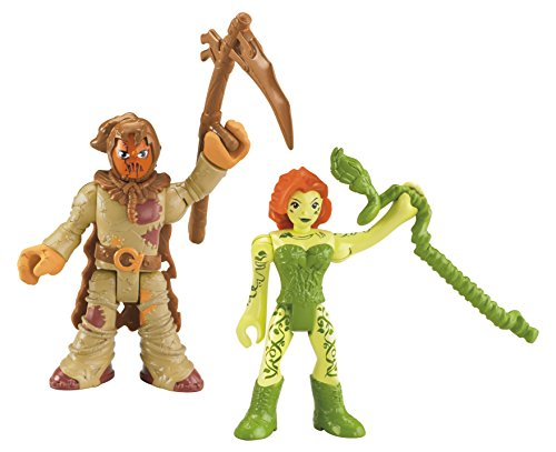 Fisher Price Imaginext DC Super Friends Scarecrow and Poison Ivy