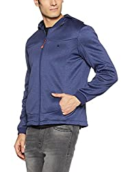 United Colors of Benetton Mens Synthetic Jacket (8903975452817_17A2FSIC2016I902L_Blue)