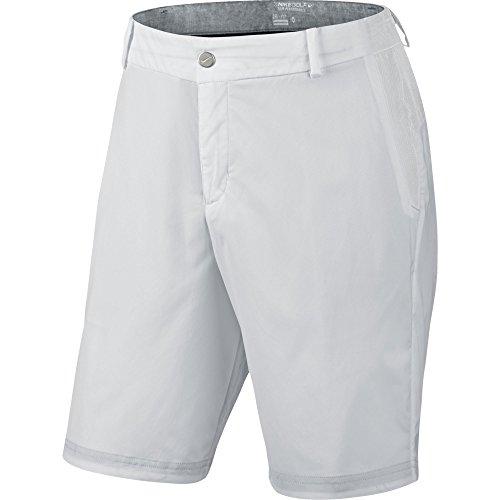 Nike Modern Herren Hose Tech Woven Short 34 Weiß/Grau