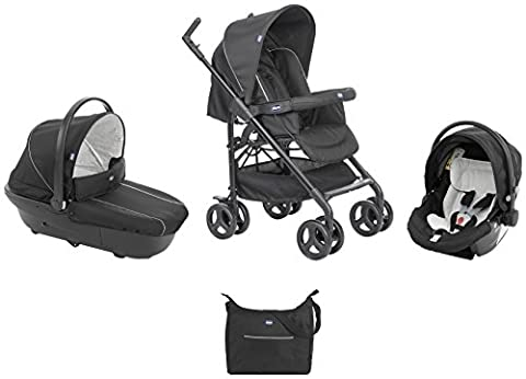 Chicco - 07079366410000 - Trio Sprint - Poussette - Black Night - Collection 2017