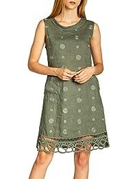 5f33be75b387 Amazon.it  vestito verde - CASPAR Fashion   Vestiti   Donna ...