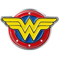 DC Comics Wonder Woman Logo Colored Pewter Lapel Pin by DC Comics