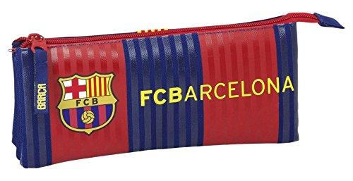 Futbol Club Barcelona F.C.Barcelona Estuche portatodo Triple Lleno 34 Piezas (SAFTA 811629706)
