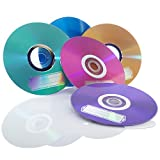 Verbatim CD-R 700MB 52X with Color Branded Surface, 10pk Bulk Box, Assorted 98939