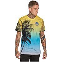 A NEW ERA Era NBA Coastal Heat Golwar Camiseta, Unisex Adulto, Multicolor (AOP