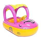 Artistic9Baby aufblasbare Schwimmen Pool Boot Float Sitz Stuhl Beach Auto Swim aufblasbare Schwimmen Sicher Raft mit Sonne Schatten
