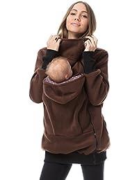 GoFuture Damen Tragejacke für Mama und Baby Känguru Klassiker VIVA GF2301