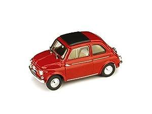 Brumm Fiat 500D 1960 Techo Cerrado Rojo 1:43 Modelo R405-01