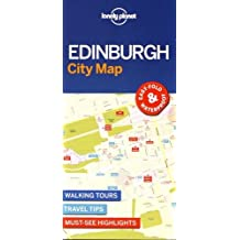 Lonely Planet EdinburghCity Map (Travel Guide)