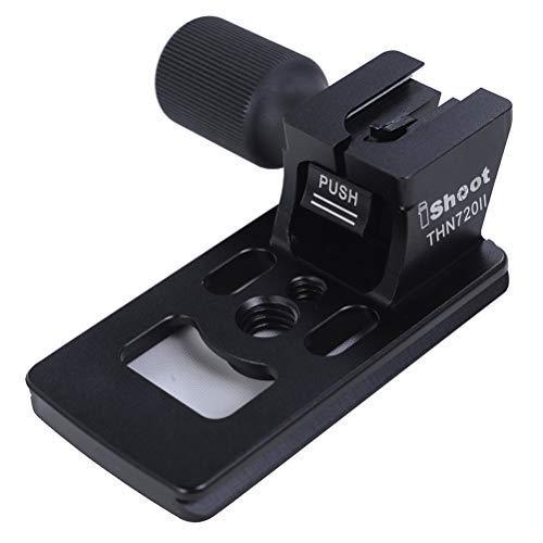 Aluminium Ersatz-objektiv (Objektiv Ersatz Base Fuß für Nikon Nikkor AF-S 70-200mm f/2.8E FL ED VR Objektiv mit Arca-Swiss Typ Schnellwechselplatte)