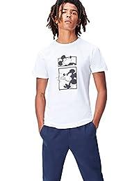 FIND Camiseta con Estampado de Mickey para Hombre